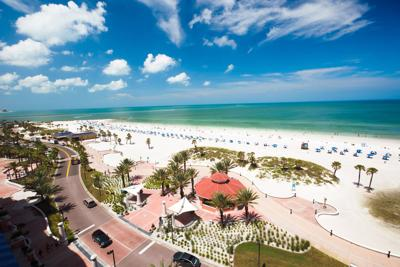 Clearwater not ready close beaches yet