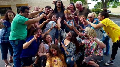 Thrill St. Pete flash mob group gets down and dirty for a good cause