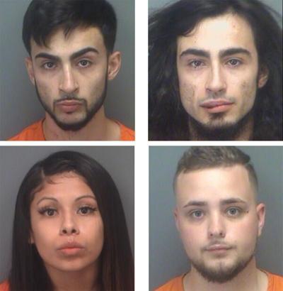 Oldsmar search warrants net four arrests on drug charges