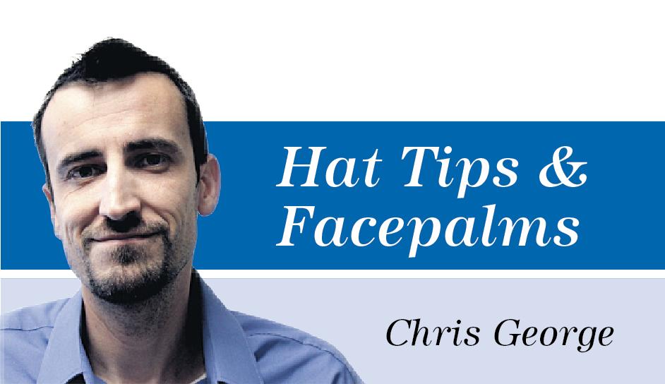 Chris George Sig - Hat Tips