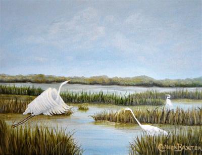 d-a&e071119-CBaxter_Three Egrets