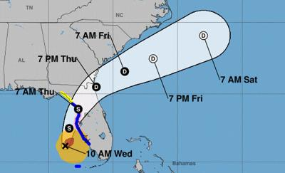 Hurricane watch issued for Pinellas County