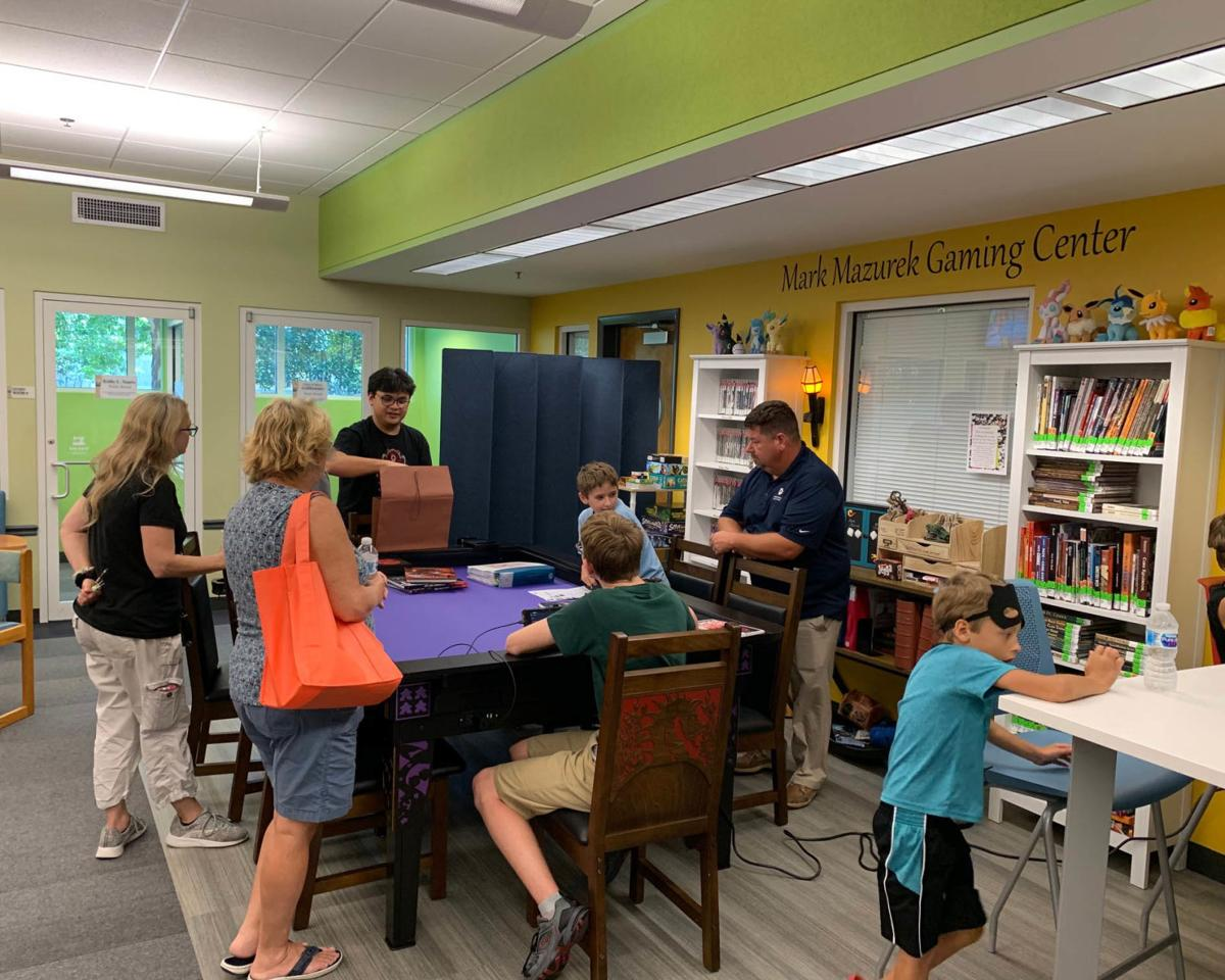 New gaming center at Palm Harbor Library honors beloved former employee