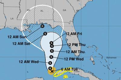 Pinellas now outside Tropical Storm Eta's forecast cone
