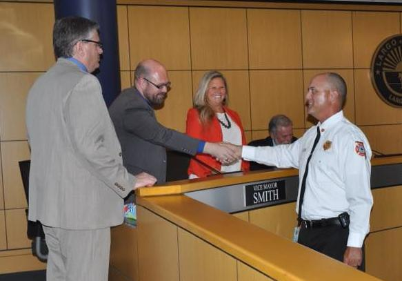 Largo Fire Chief sworn in