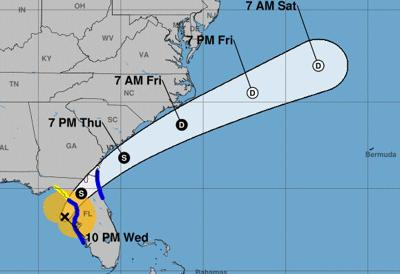Flooding reported as Tropical Storm Eta brings wind and rain to Pinellas