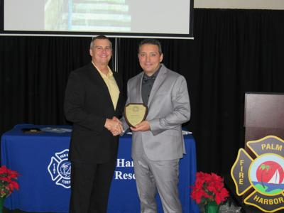 Palm Harbor Fire Rescue names firefighter of the year