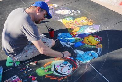 Chalk art festival 2