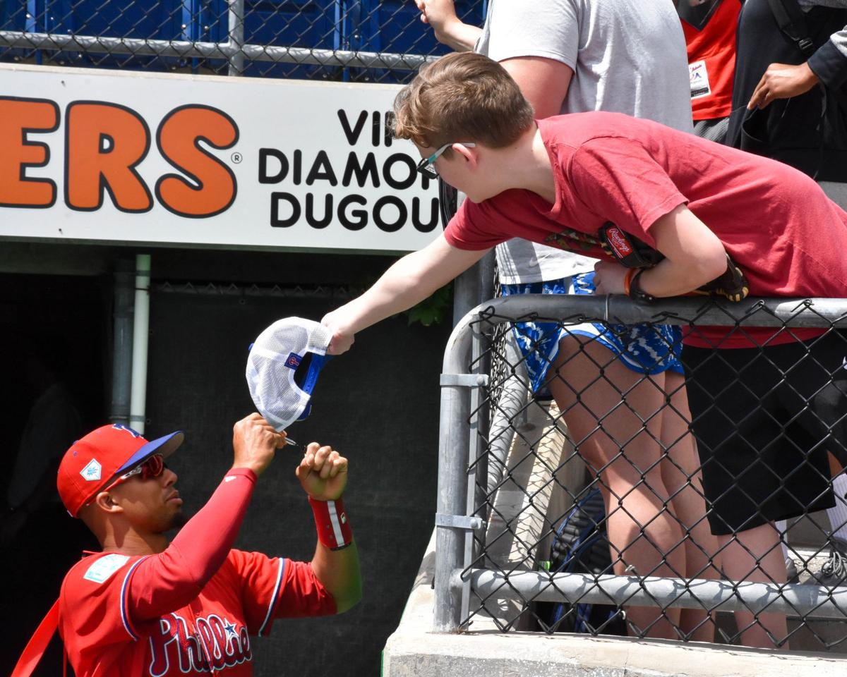 8a19ce06 Phillies close out spring training campaign with win over the Rays ...
