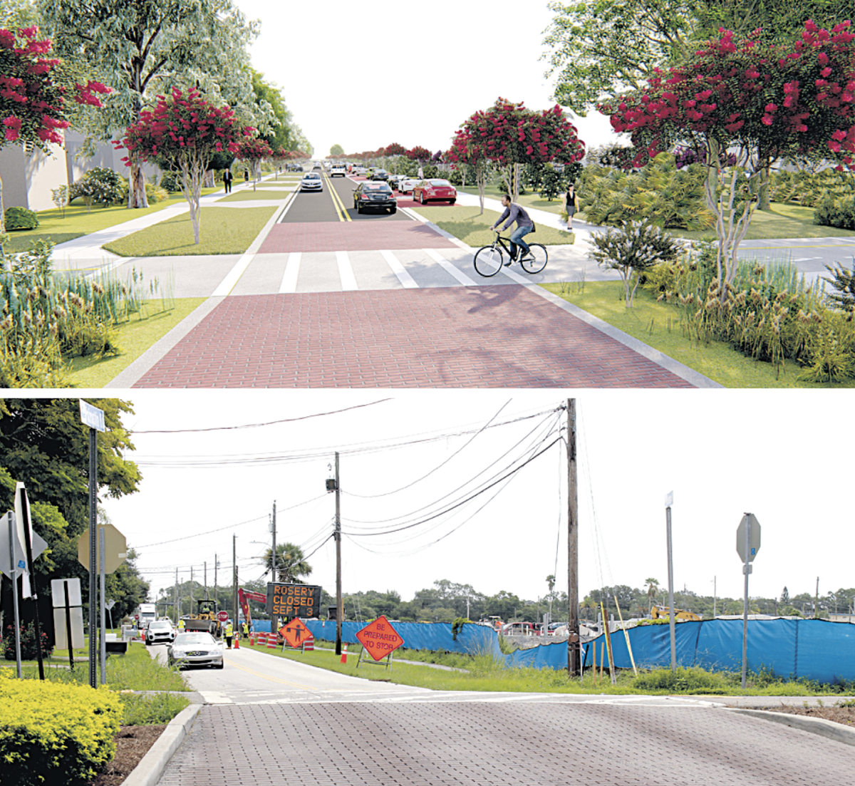 Rosery Road project