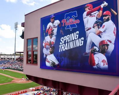 Five Phillies players infected with COVID-19 in Clearwater