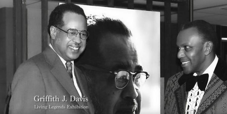 Griffith Davis and Langston Hughes