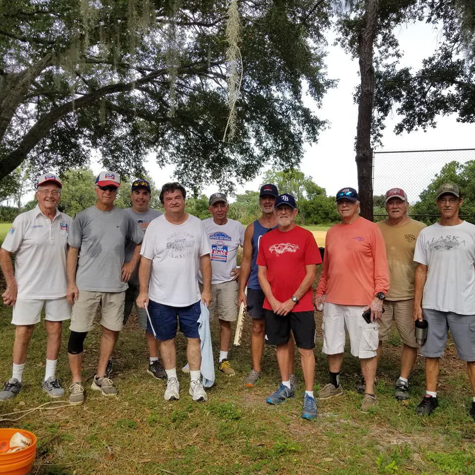 Pitch Perfect: Senior softball players meet weekly at Lake Seminole 1