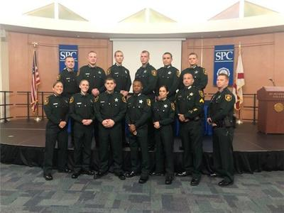 Eleven deputy recruits graduate from Corrections Academy