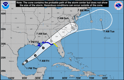Storm surge watch in effect for Pinellas due to potential cyclone