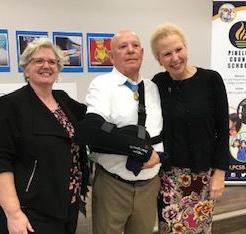Medal of Honor recipient visits Seminole's tech high school