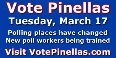 Pinellas announces new polling places for March 17 elections