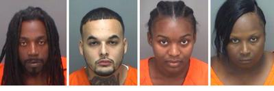 Four charged after cell phone found in Pinellas County Jail