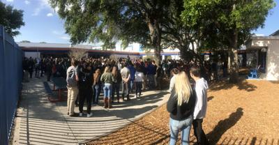 Seminole, Osceola High students protest gun violence