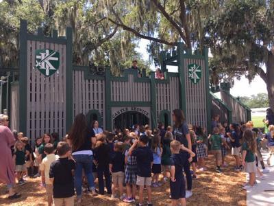 Keswick Christian School unveils 'ginormous' new playground