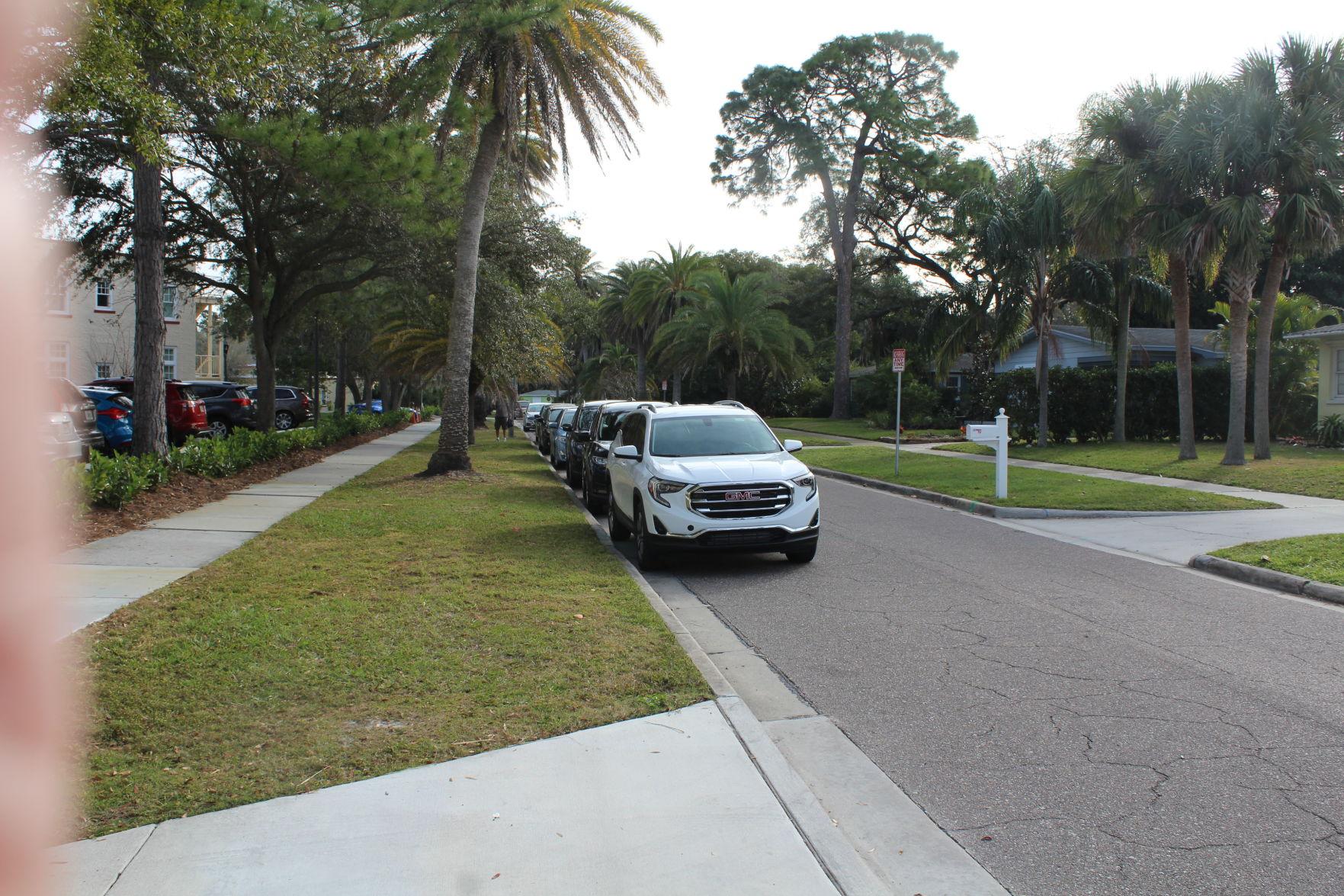 Fenway parking