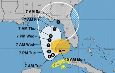 Tropical Storm Eta's path changes: watches and warnings canceled in Florida