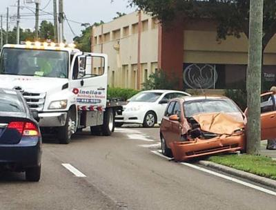 Report shows traffic crashes on an upward trend in Pinellas