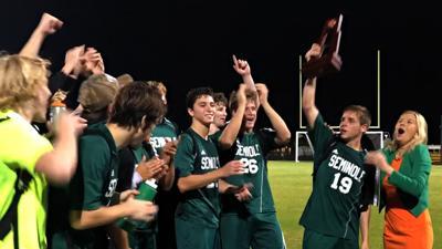 Seminole High School wins boys soccer district championship