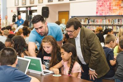 Google, Rep. Bilirakis team up to promote coding in the classroom
