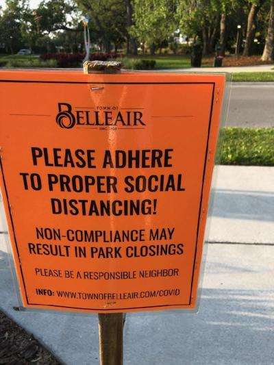 Belleair officials to residents: Follow the rules or we'll close parks, golf courses