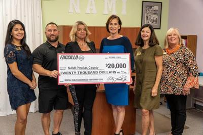 Pinellas Business Notebook: Fuccillo Nissan of Clearwater owner donates $20,000 to support NAMI