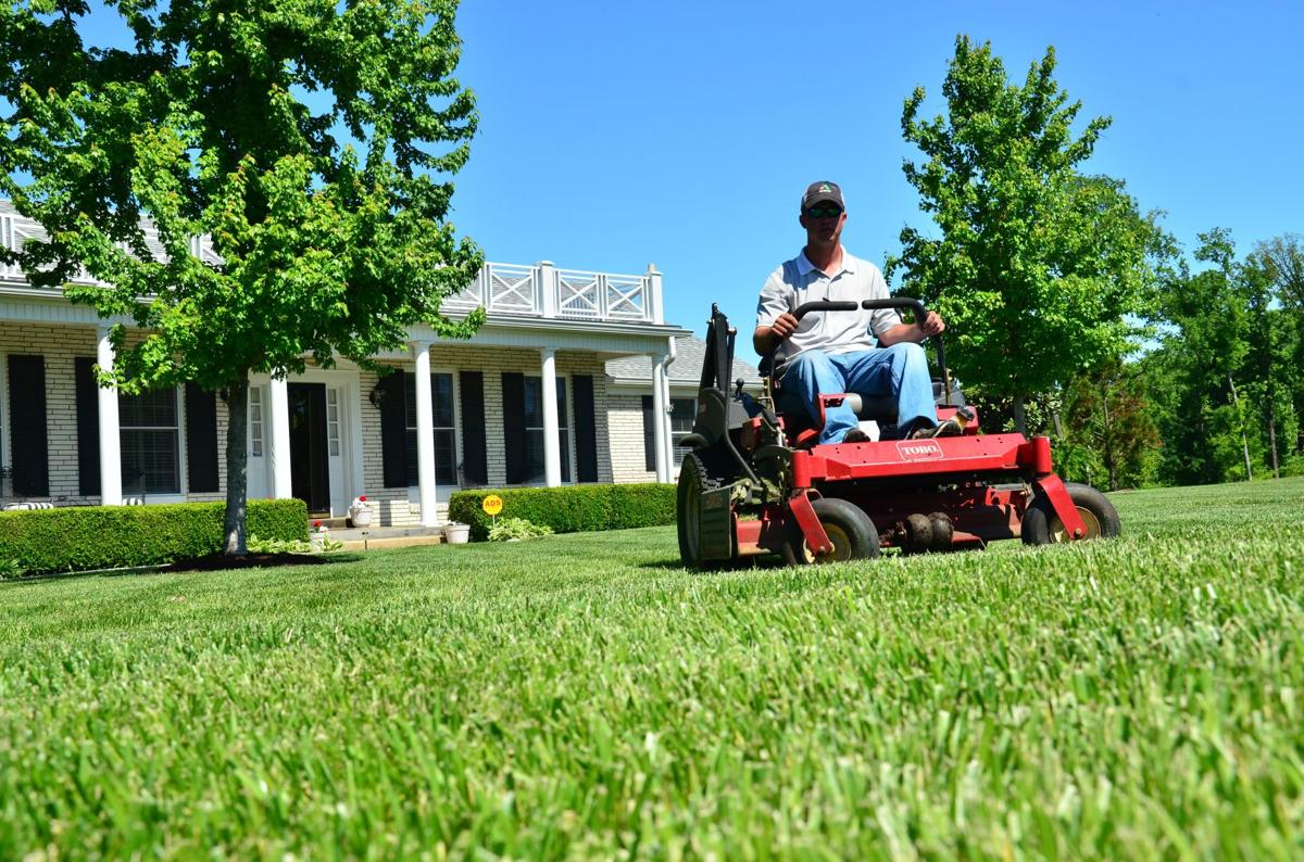 Lawn mowing app expands to palm harbor palm harbor for Vip lawn mowing services