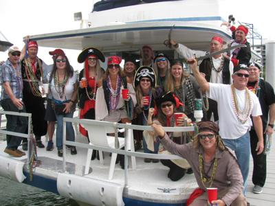Pirates invade Indian Shores