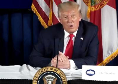Trump travels to Belleair to tout response to COVID-19