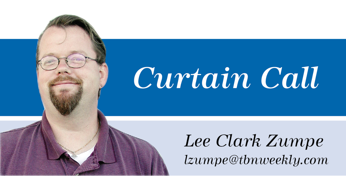 Curtain Call Lee sig