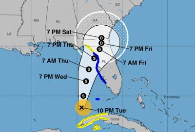 Tropical storm warning issued for Florida west coast including Pinellas County