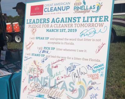 Community Leaders Kick Off Great American Cleanup Pinellas