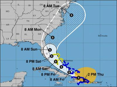 Pinellas outside Tropical Storm Isaias' cone of uncertainty for now