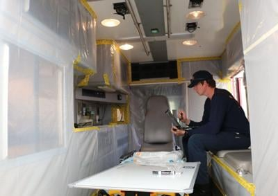 Fire departments team up to provide COVID-19 response