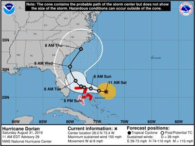 Pinellas County declares state of emergency in advance of Hurricane Dorian