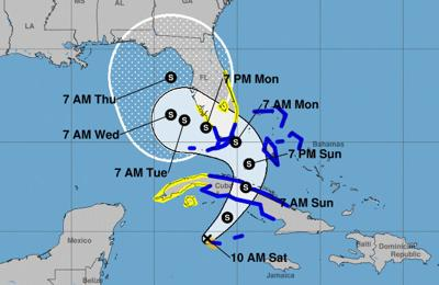 Pinellas County remains in Tropical Storm Eta's forecast cone