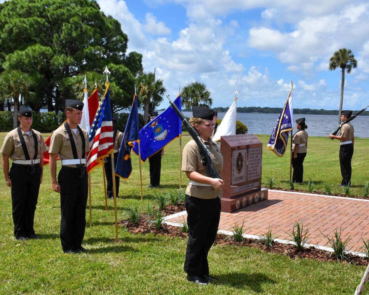 Oldsmar honors veterans with new Purple Heart Memorial