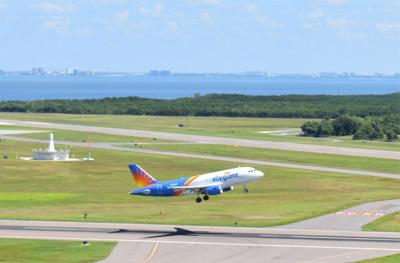Passengers returning to St. Pete-Clearwater International Airport