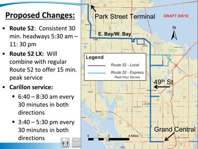 PSTA Board approves service changes for several routes | Pinellas