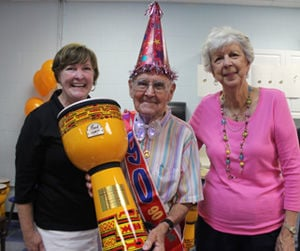 Arc Volunteer Celebrates 90th Birthday With A Bang