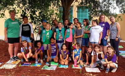 Girl Scouts 'take action' at Ronald McDonald House