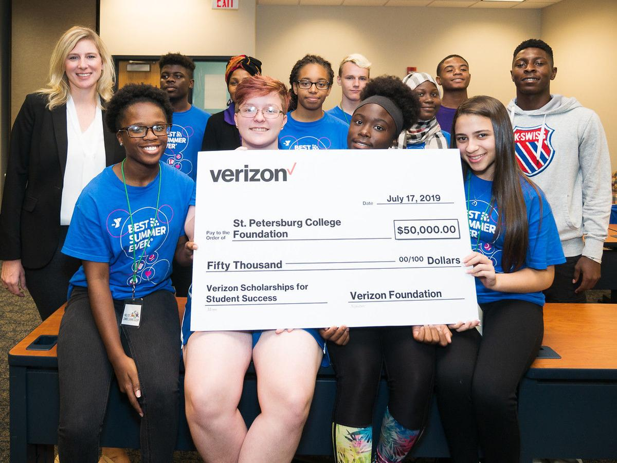 Verizon awards SPC with a $50,000 grant for student success