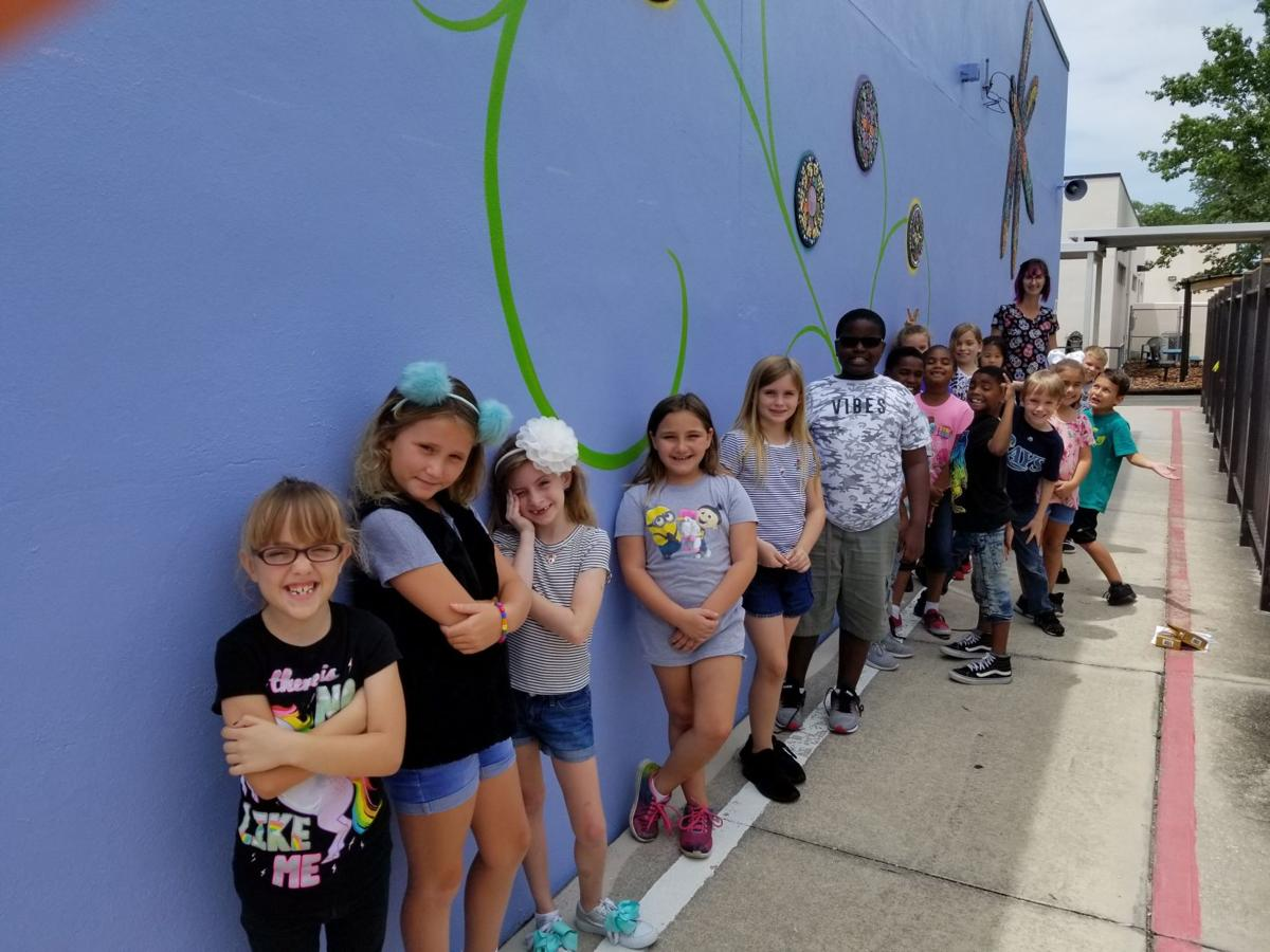 Sem Elementary Mosaic Mural 1