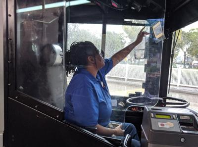 PSTA completes installation of safety shields on buses