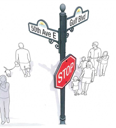St. Pete Beach commission rejects decorative street sign plan